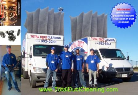 Duct Cleaning Team